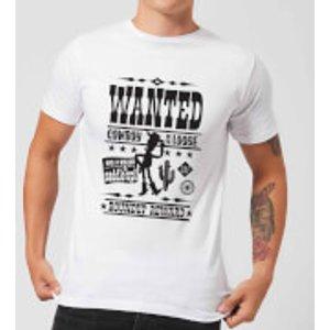 Pixar Toy Story Wanted Poster Men's T-shirt - White - 5xl - White Mt 5732 Ffffff 5xl, White