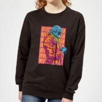 Universal Monsters Invisible Man Retro Women's Sweatshirt - Black - S - Black Ws 6800 000000 S, Black