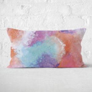 By Iwoot Watercolour Rectangular Cushion - 30x50cm - Soft Touch  Cur 19807 30x50 St