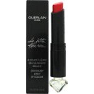 Guerlain La Petite Robe Noire Deliciously Shiny Lip Colour 2.8g - 21 Red Teddy Cosmetics