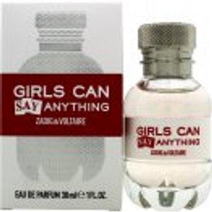 Zadig & Voltaire Girls Can Say Anything Eau De Parfum 30ml Spray Fragrance