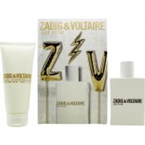 Zadig & Voltaire Just Rock! For Her Gift Set 50ml Edp + 100ml Body Lotion Skincare
