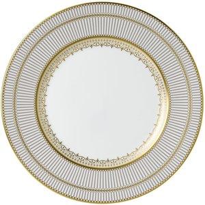 Wedgwood Anthemion Grey Plate 27cm 701587432955 Crockery