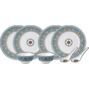 Wedgwood Florentine Turquoise 8 Piece Dinner Set 701587433457 Kitchen