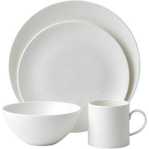 Wedgwood Gio 16 Piece Dinner Set 701587313780 Kitchen