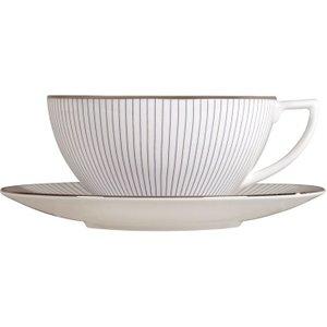 Wedgwood Jasper Conran Pin Stripe Tea Saucer 14.5cm 091574108438 Crockery