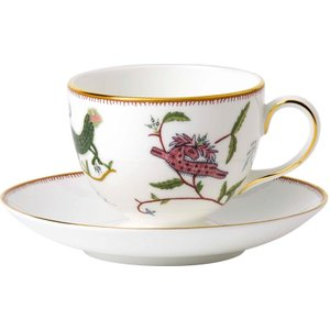 Wedgwood Mythical Creatures Leigh Teacup And Saucer, Gift Boxed 701587253048 Crockery