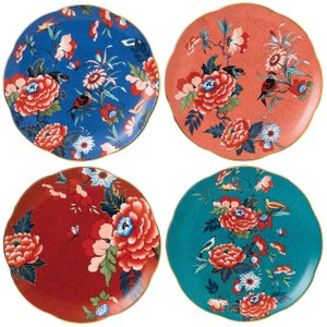 Wedgwood Paeonia Blush Side Plate 20cm, Set Of 4 701587384384 Crockery