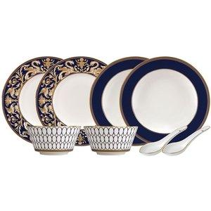 Wedgwood Renaissance Gold 8 Piece Dinner Set 701587433358 Kitchen