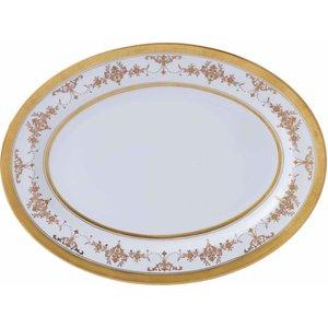 Wedgwood Riverton Oval Serving Dish 40.5cm 091574181639 Crockery