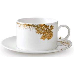Wedgwood Vera Wang Jardin Cup & Saucer 701587394086 Crockery