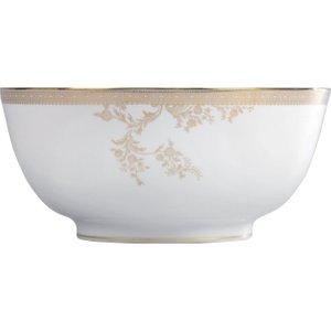 Wedgwood Vera Wang Lace Gold Salad Bowl 25cm 032677985441 Crockery