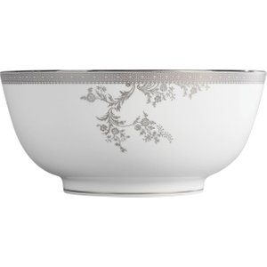 Wedgwood Vera Wang Lace Platinum Salad Bowl 25cm 032677903568 Crockery