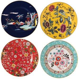Wedgwood Wonderlust Plates, Set Of 4 701587380423 Crockery