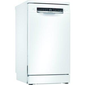 Bosch Serie 4 Sps4hkw45g 45cm Home Connect Slimline Dishwasher Dishwashers