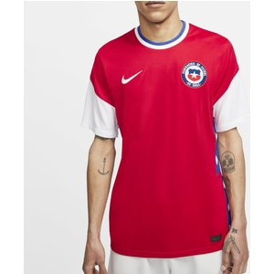 Nike Chile 2020 Home Football Shirt Red 369877 M 371385, Red