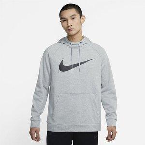 Nike Dry Swoosh Hoody Mens Grey 232867 S 531069 Football, Grey