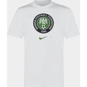 Nike Nigeria Crest T Shirt Mens White 435706 M 371377 Football, White
