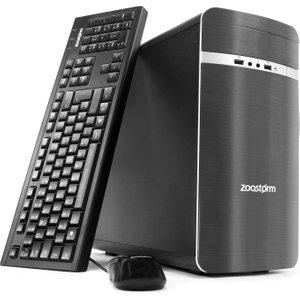 Zoostorm Home Media Desktop Pc, Intel Core I7-4790 Processor, 16gb Ram, 2tb Hdd, Dvd/rw, W 7260 0100 Computers