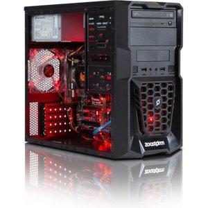 Zoostorm Tempest Gaming & Media Desktop Pc, Amd A8-7600 Processor, 8gb Ram, 1tb Hdd, D 7260 5100 Computers