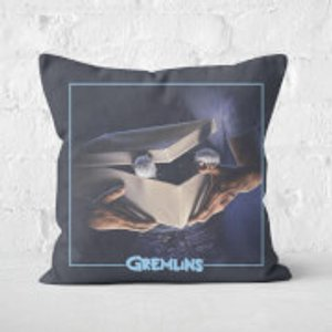 Gremlins Poster Square Cushion - 60x60cm - Soft Touch  Cu 22222 60x60 St Home Accessories