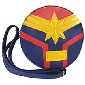 Cerda Marvel Captain Marvel Faux Leather Shoulder Bag - Blue  2100002840 Novelty Gifts