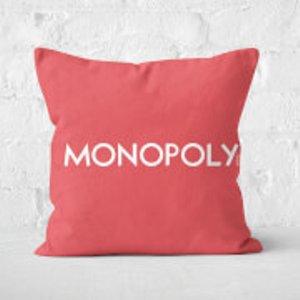 Monopoly Go Square Cushion - 50x50cm - Soft Touch  Cu 16378 50x50 St Home Accessories