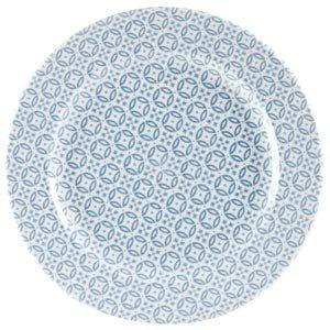 Churchill Moresque Profile Plate Blue 10.85inch / 27.6cm (case Of 12) 33438 16511