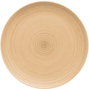 Modern Rustic Coupe Plate Sand 15cm (set Of 12) 37512 19242