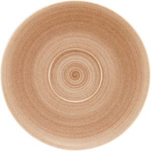 Modern Rustic Coupe Saucers Sand 15cm (case Of 12) 37624 19336