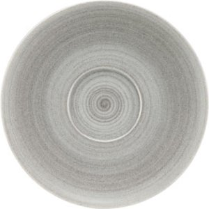 Modern Rustic Coupe Saucers Stone 15cm (case Of 12) 37661 19363