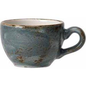 Steelite Craft Low Cup Blue 8oz / 230ml (set Of 6) 36554 18558