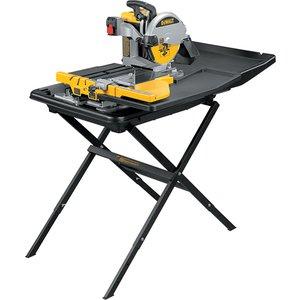 Dewalt D24000 Wet Tile Saw With Slide Table 1600w 110v Dewd24000l