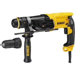 Dewalt D25134k Sds Plus 3 Mode Qcc Hammer Drill 800w 240v Dewd25134k