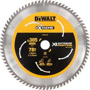 Dewalt Flexvolt Xr Mitre Saw Blade 305 X 30mm X 78t Dewdt99576qz