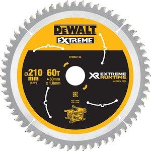 Dewalt Flexvolt Xr Table Saw Blade 210 X 30mm X 60t Dewdt99567qz