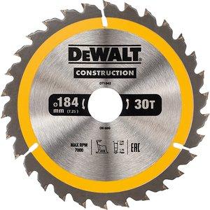 Dewalt Portable Construction Circular Saw Blade 184 X 30mm X 30t Dewdt1942qz