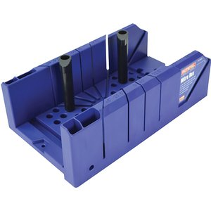 Faithfull Plastic Mitre Box With Pegs 310mm (12.1/4in) Faimbp