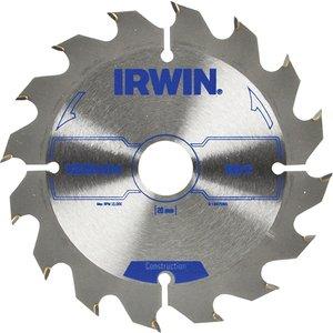 Irwin® Construction Circular Saw Blade 125 X 20mm X 16t Atb Irw1897086