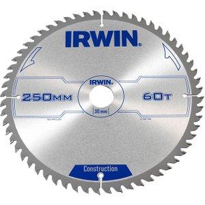 Irwin® General Purpose Table & Mitre Saw Blade 250 X 30mm X 60t Atb Irw1907700