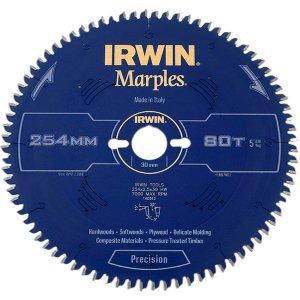 Irwin® Marples Mitre Circular Saw Blade 254 X 30mm X 80t Hi-atb/neg Irw1897461