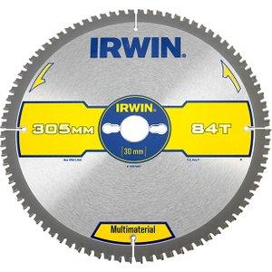 Irwin® Multi Material Circular Saw Blade 305 X 30mm X 84t Tcg Irw1897447