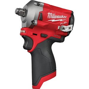 Milwaukee Power Tools M12 Fiwf12-0 Fuel™ 1/2in Impact Wrench 12v Bare Unit Milm12fiw120
