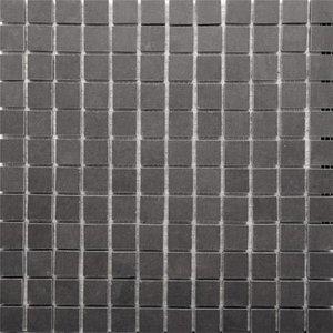 Rak Ceramics Rak Lounge Anthracite Porcelain Mosaic Unpolished Tile Sheet- 300mm X 300mm 7gpd56up Mos