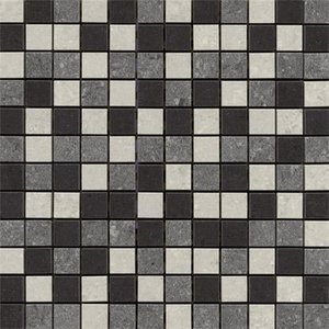 Rak Ceramics Rak Lounge Mixed Porcelain Mosaic Unpolished Tile Sheet- 300mm X 300mm 7gpd Mos Up
