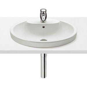 Roca Senso Ceramic Countertop Basin - 580mm - 1 Tap Hole 327515000