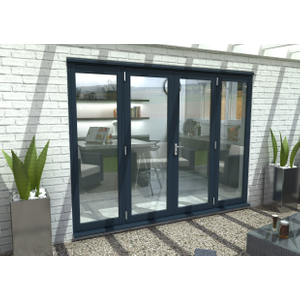 Rohden Grey Fully Finished External French Sidelight - 78in X 22in X 54mm (1991mm X 565mm) Fg54600sl