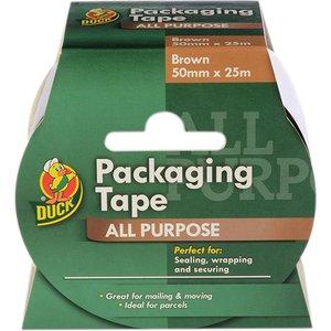 Shurtape Duck Tape® Packaging Tape 50mm X 25m Brown Shu223554