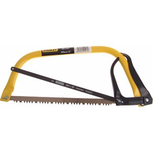 Stanley Tools Hack Bowsaw 300mm (12in) Plus Extra Hacksaw Blade Sta120447