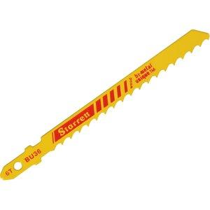 Starrett Bu36-5 Wood Cutting Jigsaw Blades Pack Of 5 Strbu365